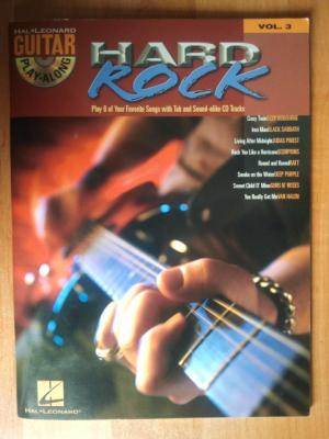 Guitar Play-Along Volume 3 Hard Rock + CD