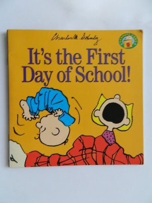 It's the First Day of School! (Peanuts Gang) (Englisch) - Charles M. Schulz
