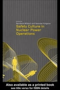 Safety Culture in Nuclear Power Operations - Wilpert, Bernhard