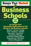 Essays That Worked for Business Schools (Revised) - Boykin Curry, Brian Kasbar