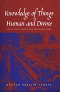 Knowledge of Things Human and Divine - Professor Donald Phillip Verene
