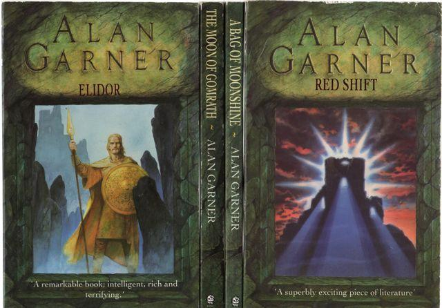 Elidor AND The Moon of Gomrath AND A Bag of Moonshine AND Red Shift (Four Books) - Garner, Alan