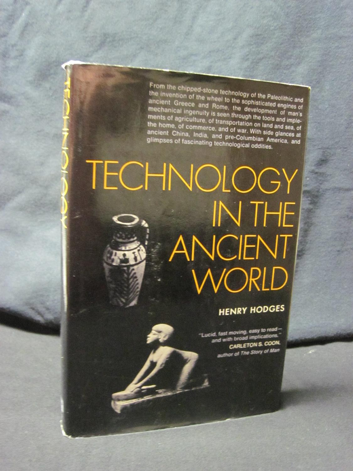 Technology in the Ancient World - Hodges, Henry