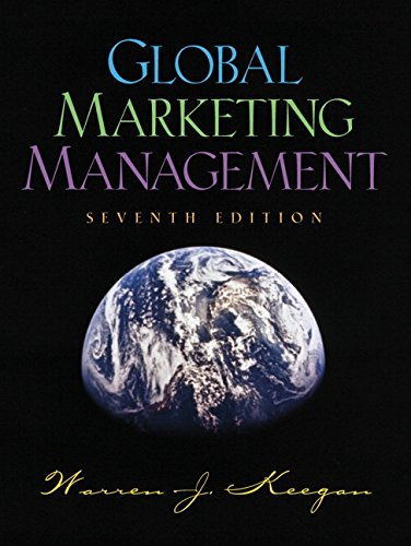 Global Marketing Management, 7th ed.